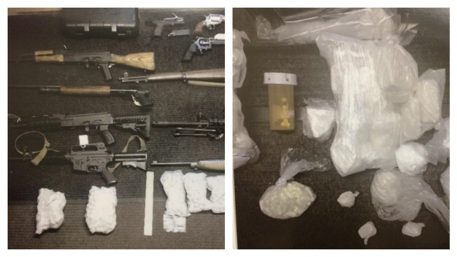 Police Bust Heroin Ring, Seize Guns and Drugs