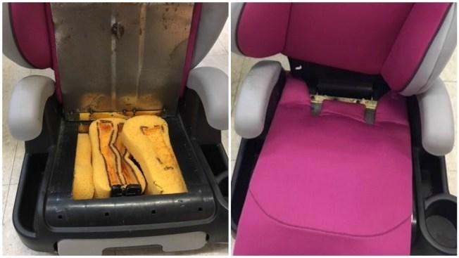 Police: Drug Dealers Hid Heroin Inside Child's Car Seat