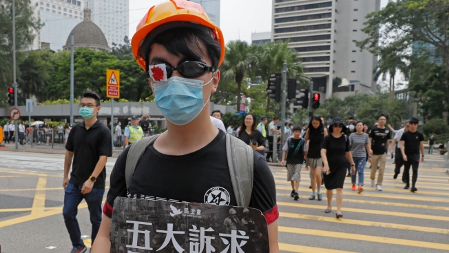 Canada Halts Hong Kong Consulate Travel After UK Case as Protests Continue