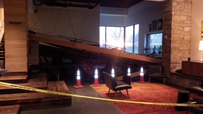 Ceiling Collapses at Hotel Vermont