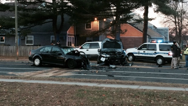 One Dead, Two Injured in Hartford Crash