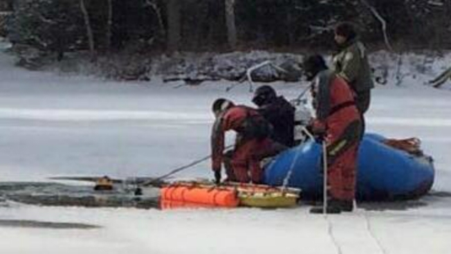 Body of Man Recovered After Ice Fall