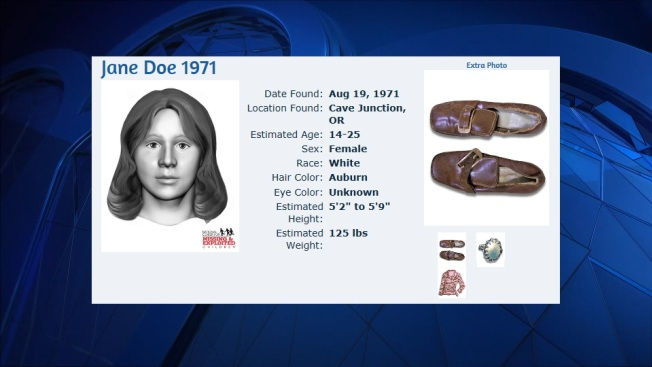 1971 Oregon Homicide Victim Could Be From New England
