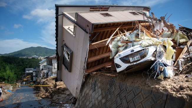 Over 150 Dead in Japan Floods; Many Out of Power, Water