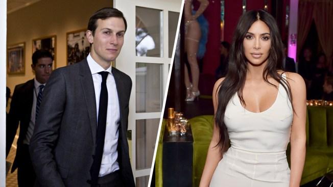 Kim Kardashian West in Talks With Jared Kushner to Pardon an Imprisoned Grandmother