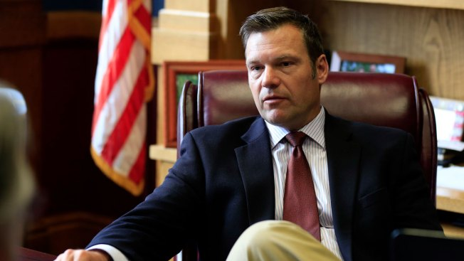 Uncounted Kansas Ballots Fuel Fears About Kobach's Proposals