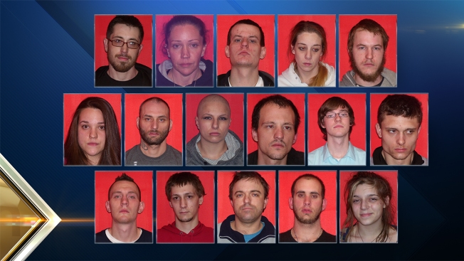16 Arrested in Laconia, NH, Drug Sweep for Selling Heroin, Meth and Crack