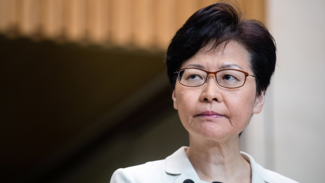 HK Leader Says Bill Withdrawal Was Own Decision, Not Beijing's