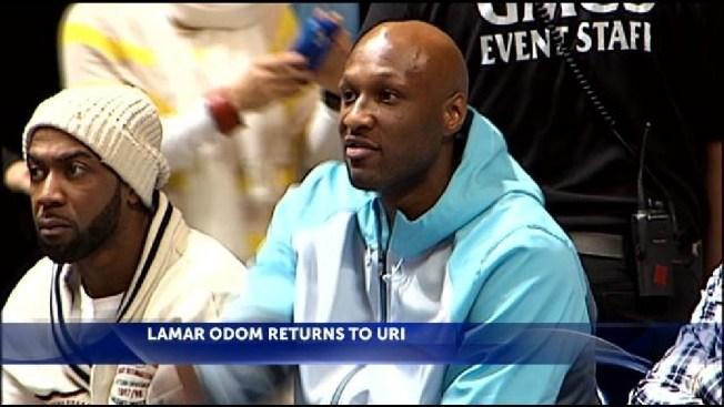 Lamar Odom's Rhode Island, Connecticut Ties