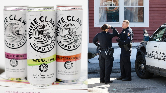 Portland Police Confirm That Laws Do Apply to White Claw Drinkers