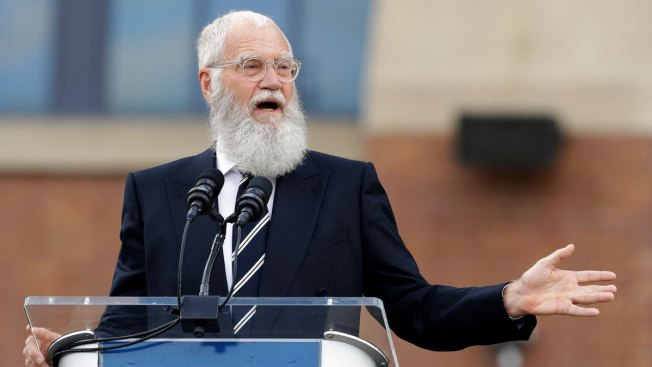 David Letterman's Award-Winning Human Trick