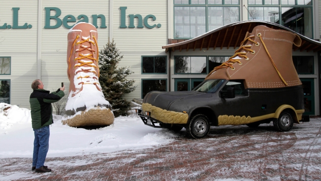 LL Bean's Newest Bootmobile Heads to Japan