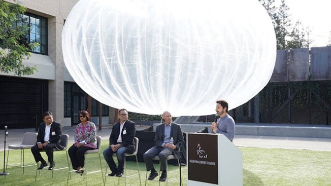 Google's Project Loon Internet Balloons to Take Flight Over Indonesia