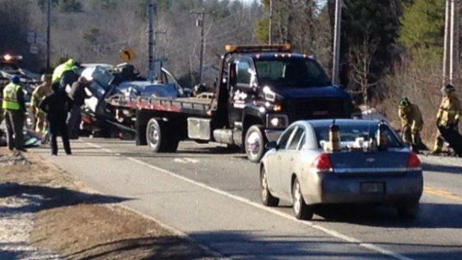 Father, Son Killed in Car Crash