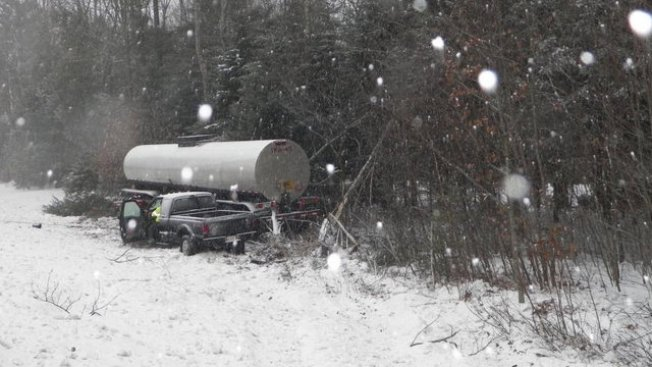 Snow Causes Crashes in New Hampshire, Maine and Connecticut