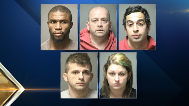 5 Arrested, Meth, Marijuana and Cocaine Seized, in N.H. Drug Sweep