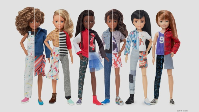Mattel Launches Line of Gender-Nonconforming Dolls