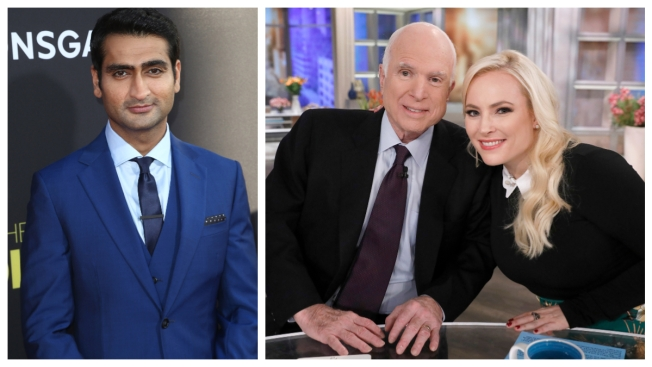 Kumail Nanjiani Apologizes for John McCain Swipe