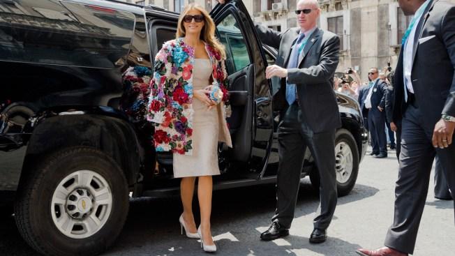Melania Trump's Style Evokes European Roots, Not 'America First'