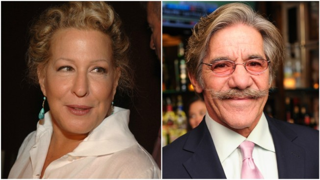 Geraldo Rivera Apologizes to Bette Midler for Alleged Groping Incident