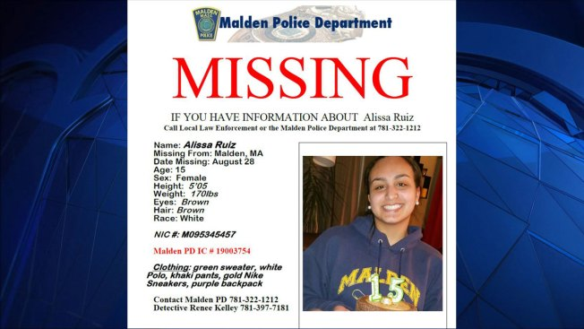15-Year-Old Malden Girl Missing Since Wednesday
