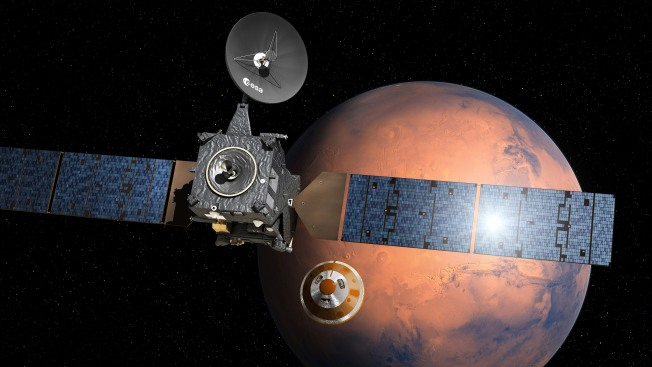 European Mars Lander's Fate Unclear