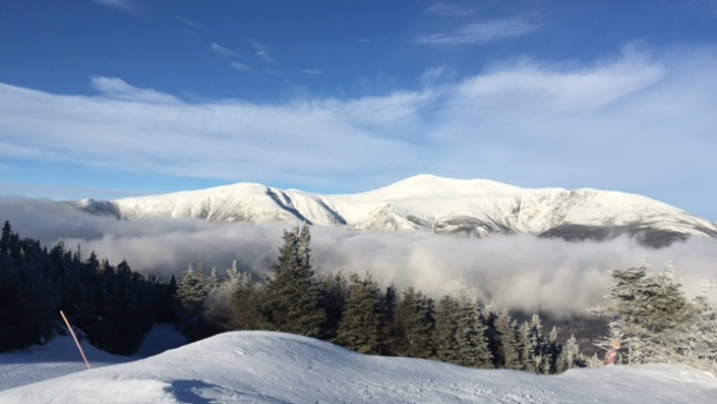 Avalanche Warning for Mount Washington in New Hampshire