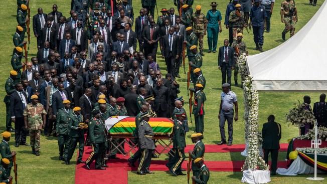 Zimbabwe's Mugabe Honored at State Funeral, Burial Delayed