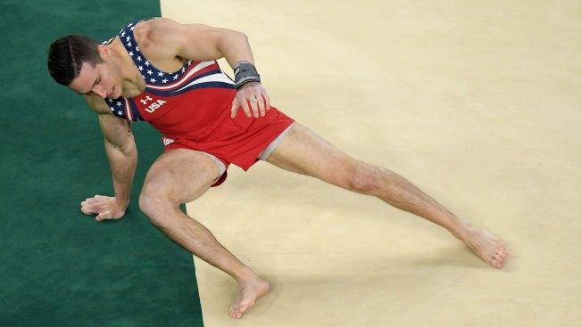 US Men Stumble to Fifth in Gymnastics