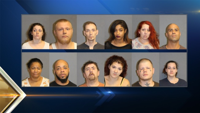 14 Arrested in Nashua, New Hampshire, Drug Sweep