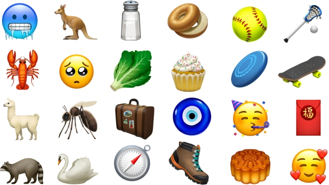 The iPhone Gets New Emoji, Including Kangaroo, Skateboard and Lobster