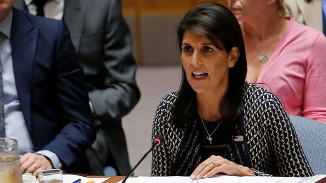 Nikki Haley: US hopes to stay in Iran nuclear deal