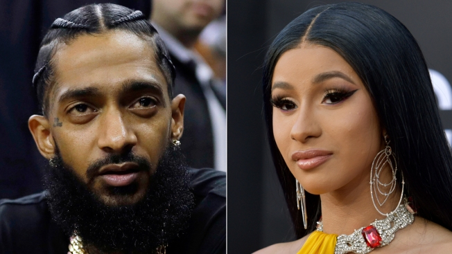 Cardi B Tops BET Noms, Nipsey Hussle Up for 1
