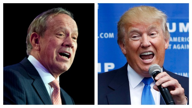 George Pataki Challenges Donald Trump to Immigration Policy Debate in New Hampshire
