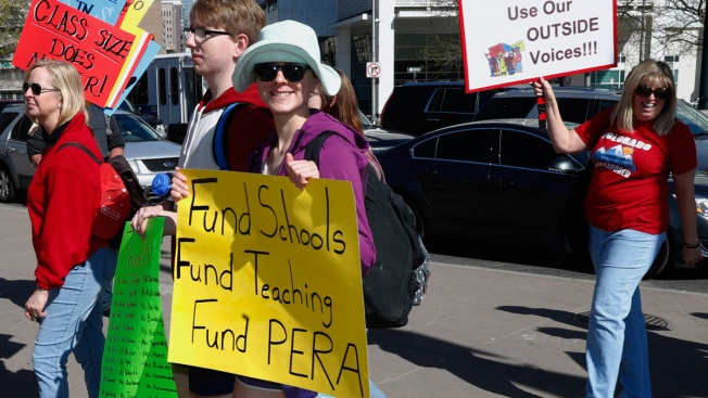 Rising Pension Costs Play Role in Teacher Protests Across US