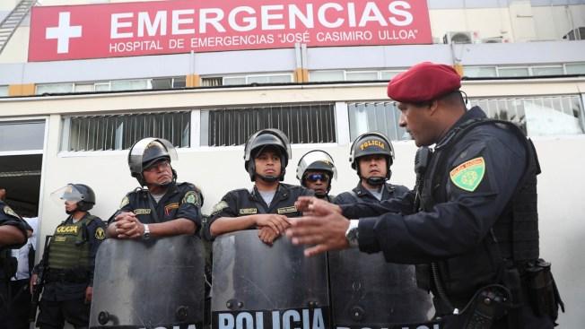 Ex-Peru President Kills Himself as Police Try to Arrest Him