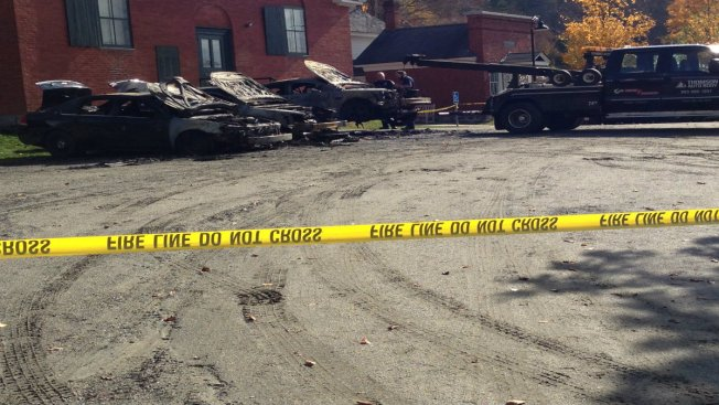 Vt. Town Loses Police Cruisers in Fire