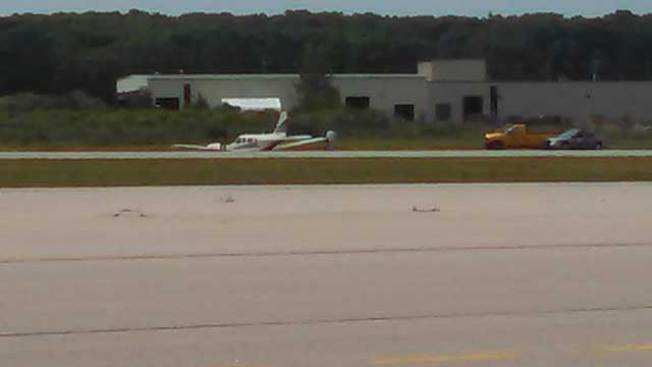 Plane Goes Off Runway at Rhode Island Airport