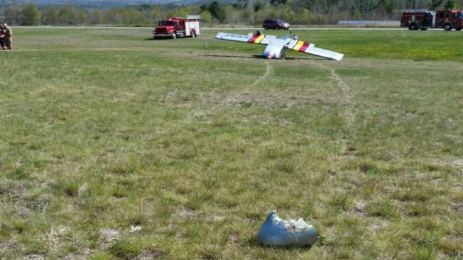 Plane Strikes Deer, Flips Over in Keene, New Hampshire