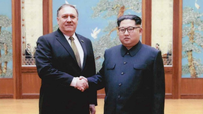 Pompeo Points to Potential Security Assurances for Kim Jong Un