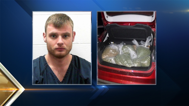 Man Busted with 41 Lbs of Pot in His Trunk