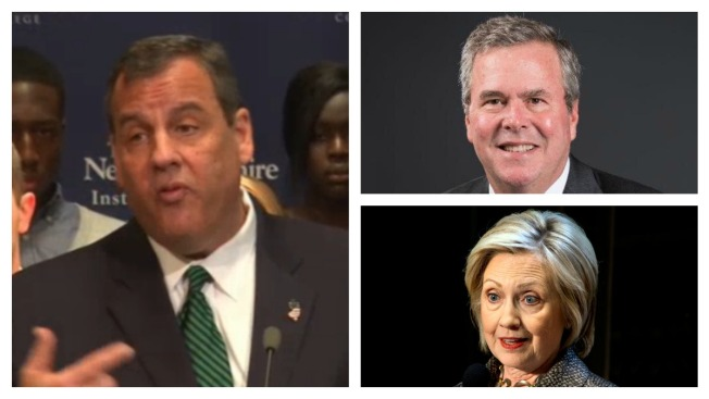 Christie, Bush, Clinton in New Hampshire This Week