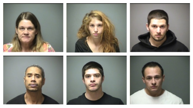 6 Arrested in Prostitution Sting
