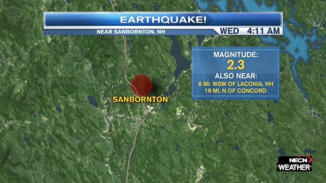 Earthquake Hits New Hampshire
