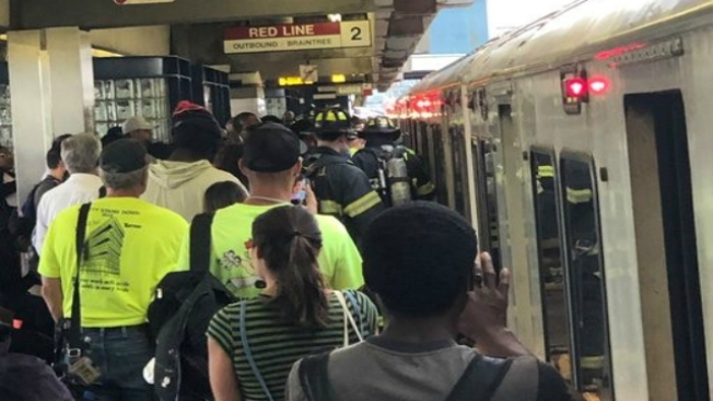 Delays Reported on Red Line Due to Fire Department Activity