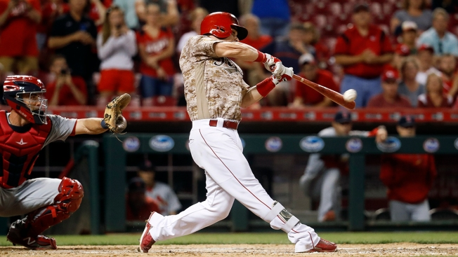 Scooter Gennett Hits 4 Home Runs for Reds to Tie MLB ...