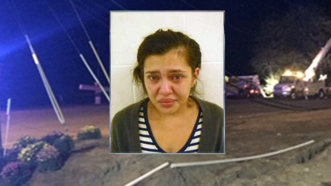 Police: Woman Charged with Drunken Driving After Crash with Kids in Car