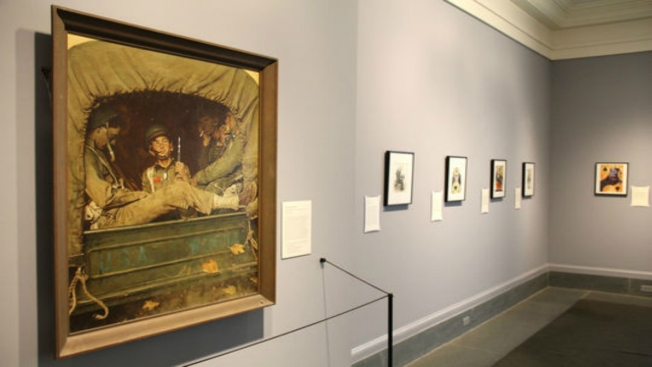 Museum Sells 22 of 40 Pieces, Some Rockwell, to Pay Bills