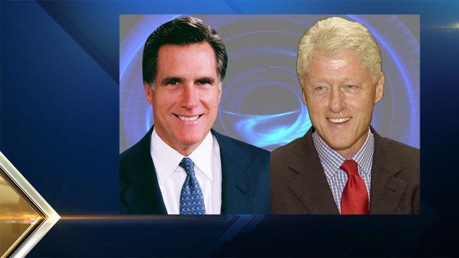 Mitt Romney, Bill Clinton in NH This Week