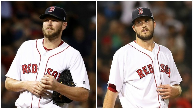 Sale, Pomeranz Go for Red Sox in ALDS Games 1-2 vs. Astros